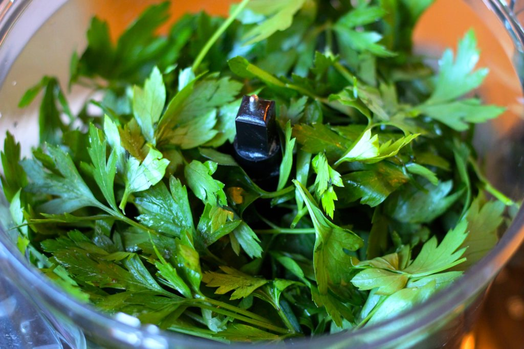 Chimichurri Sauce - parsley